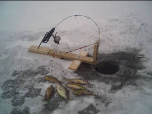 Homemade ice fishing tip ups homemade ice fishing rods