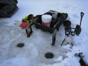 ice fishing 201 - gear and advanced tactics for ice fsihing, Reel Combo